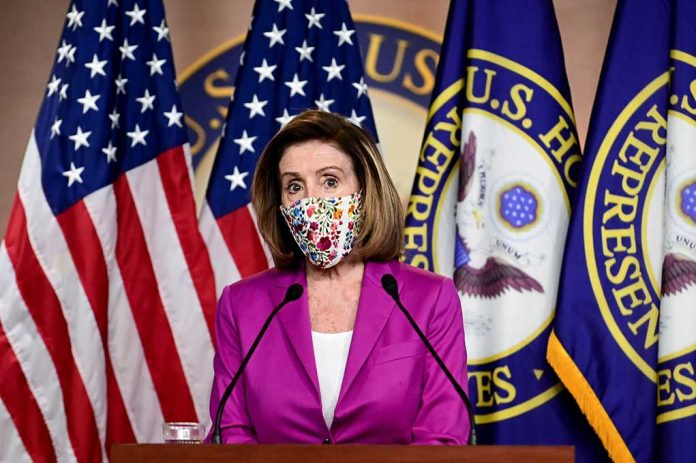 Lawmaker Reveals Why Pelosi Is Really Pushing Masks