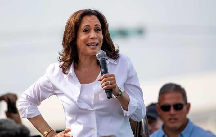 Kamala Harris Says Abortion Bans Will Hurt People of Color